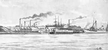 Howaldtswerke um 1895
