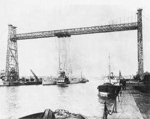 Kaiserliche Werft - Schwebekran