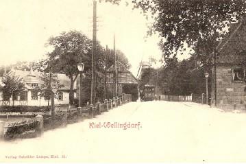 Schwentinebrücke um 1905